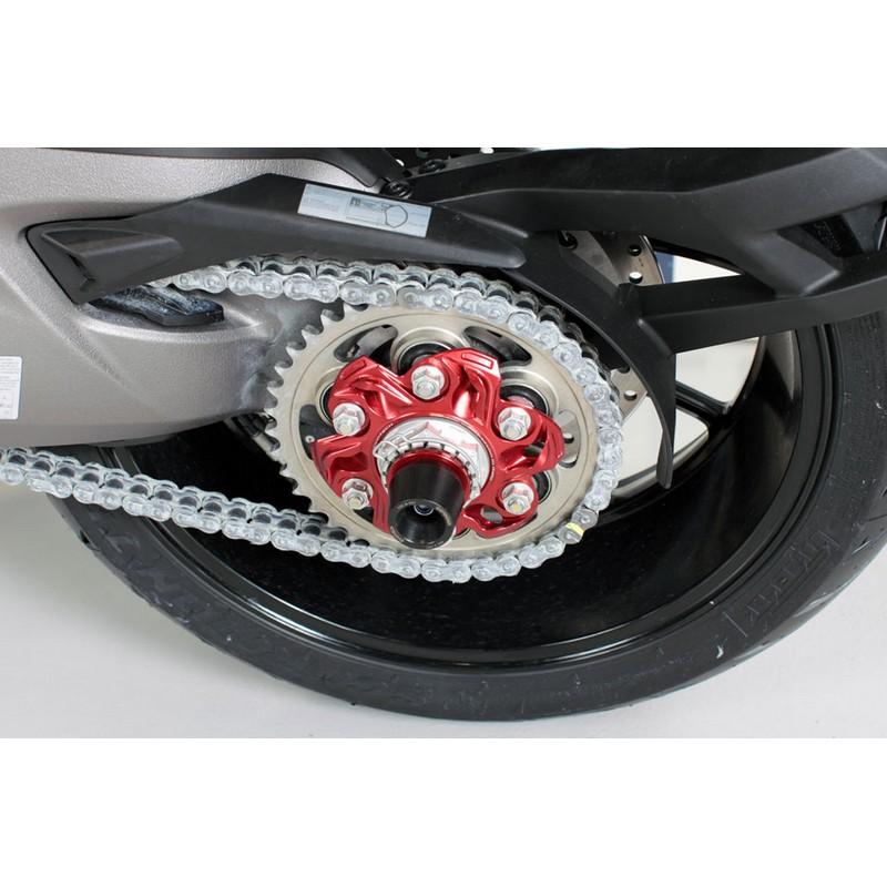 Porta corona CNC EVOTECH para Ducati 6 agujeros