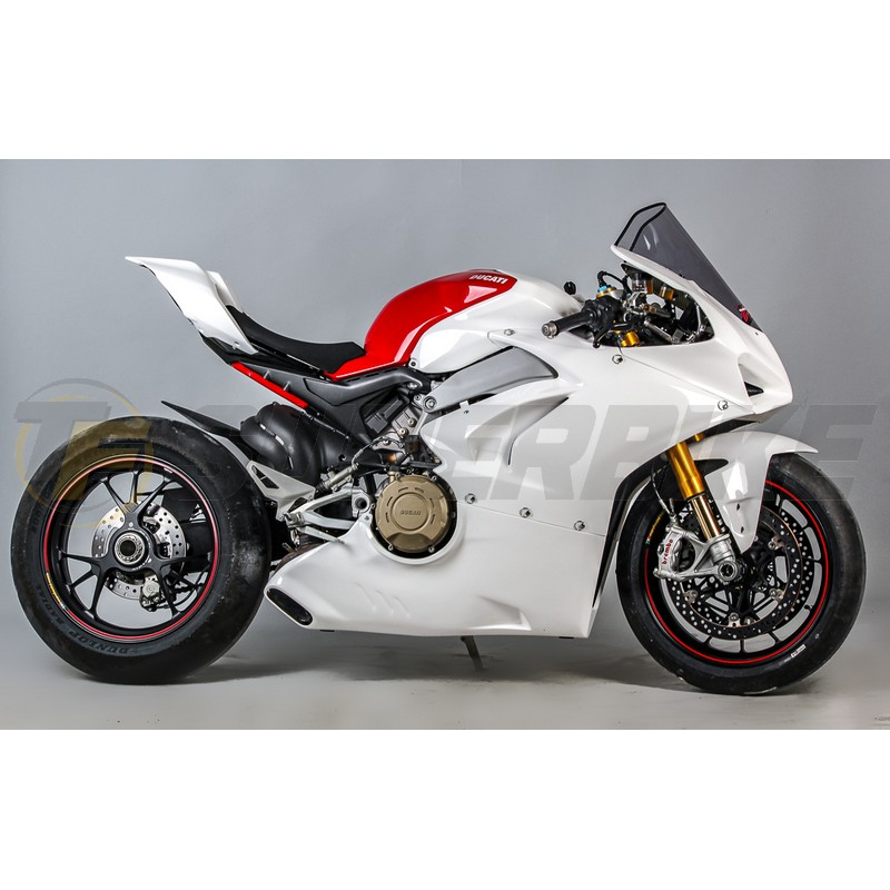 Carenado de fibra TF SUPERBIKE Ducati Panigale V4 '18>