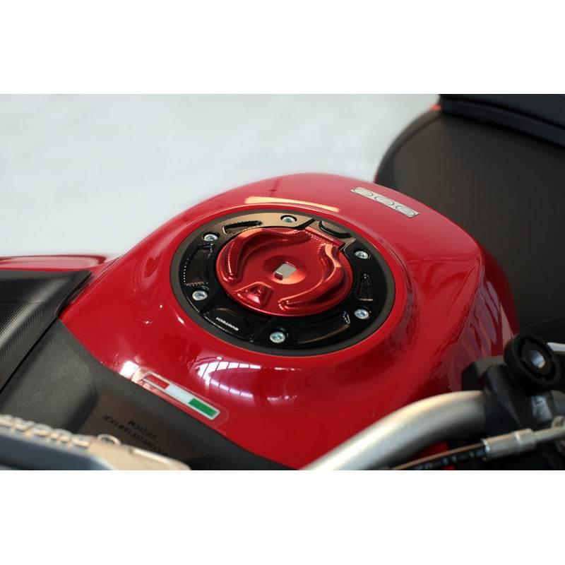 Tapón gasolina EVOTECH para llave original Ducati Multistrada 1200/1260/KTM Superduke 1290R