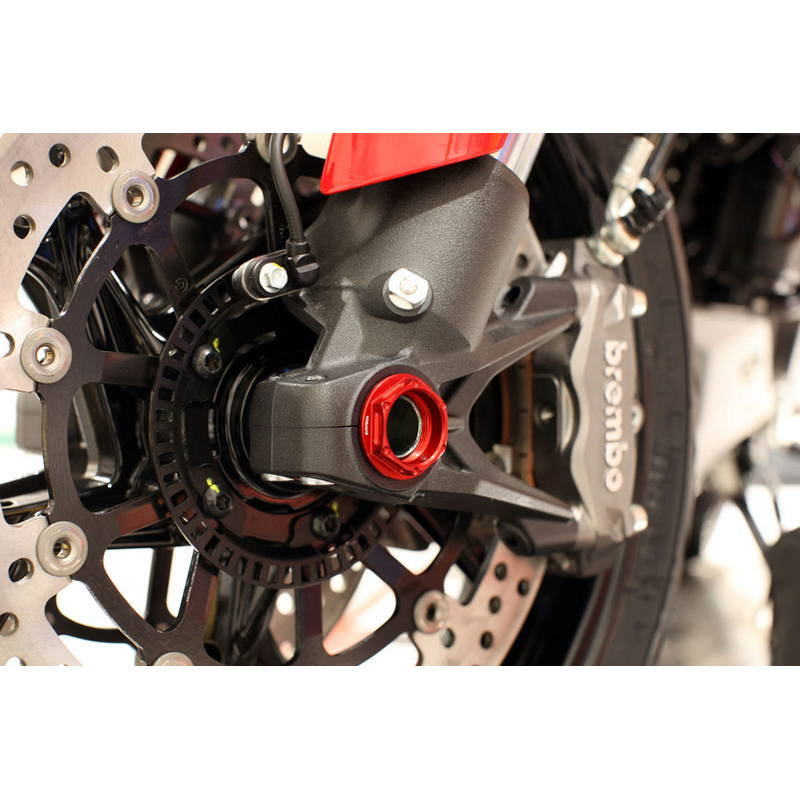 Tuerca ergal Thunderbolt EVOTECH eje delantero Ducati (M25x1
