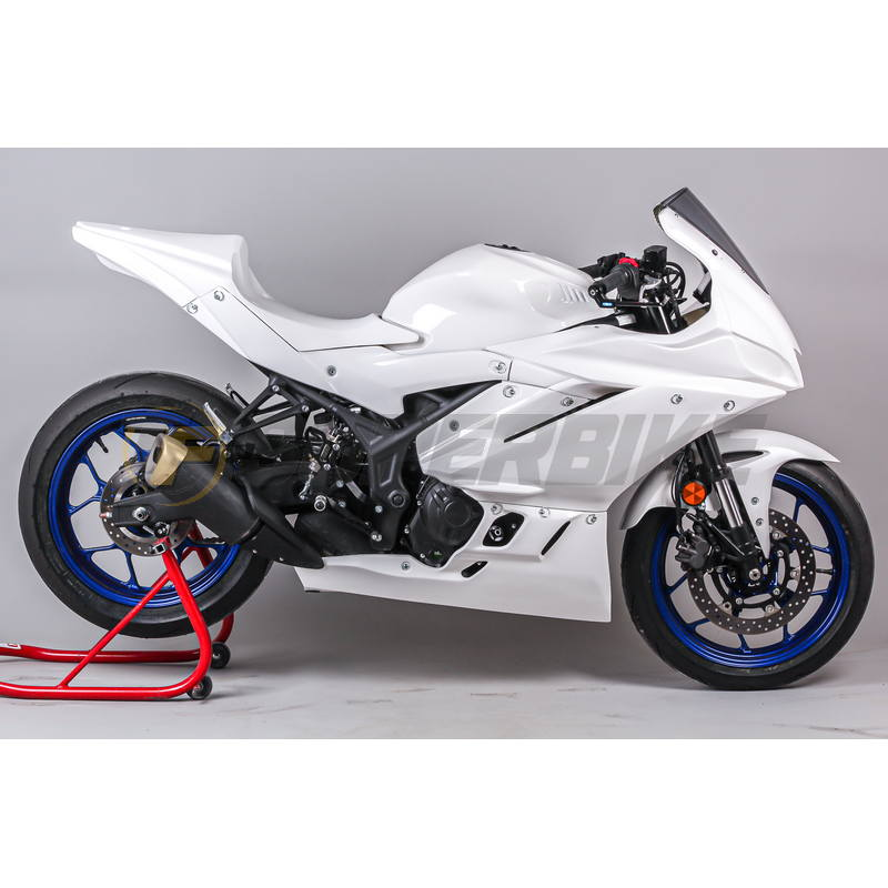 Carenado de fibra TF SUPERBIKE Yamaha R3 '19>
