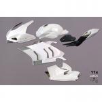 Carenado de fibra TF SUPERBIKE Ducati Panigale V4R '19>