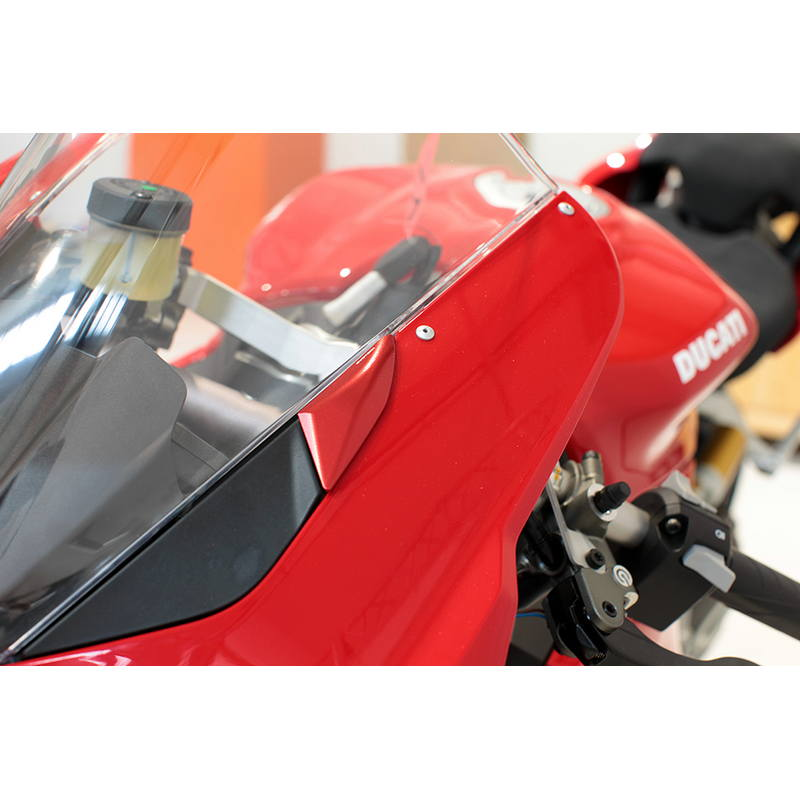 Tapas retrovisores Gems of the Wind EVOTECH para Ducati Panigale V4 / V4R